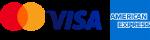 visa mc amex logo
