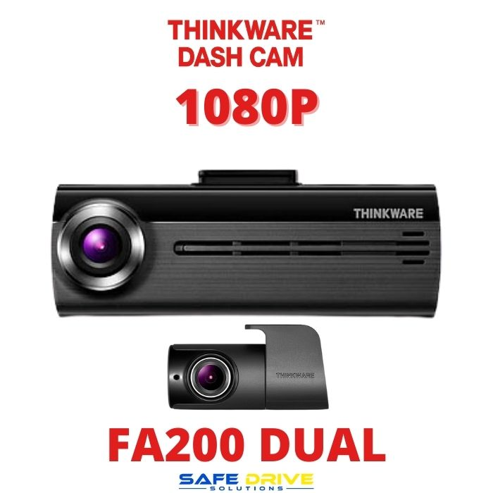 THINKWARE FA200 2 CHANNEL DASH CAMERA