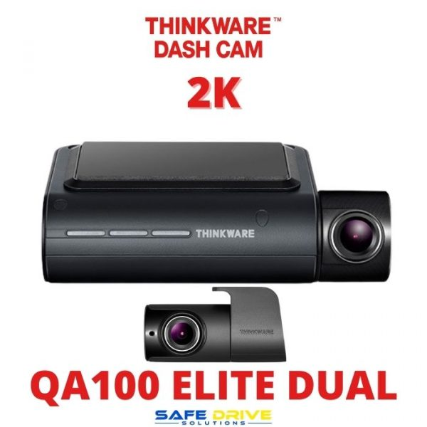 THINKWARE QA100 ELITE DUAL DASH CAM