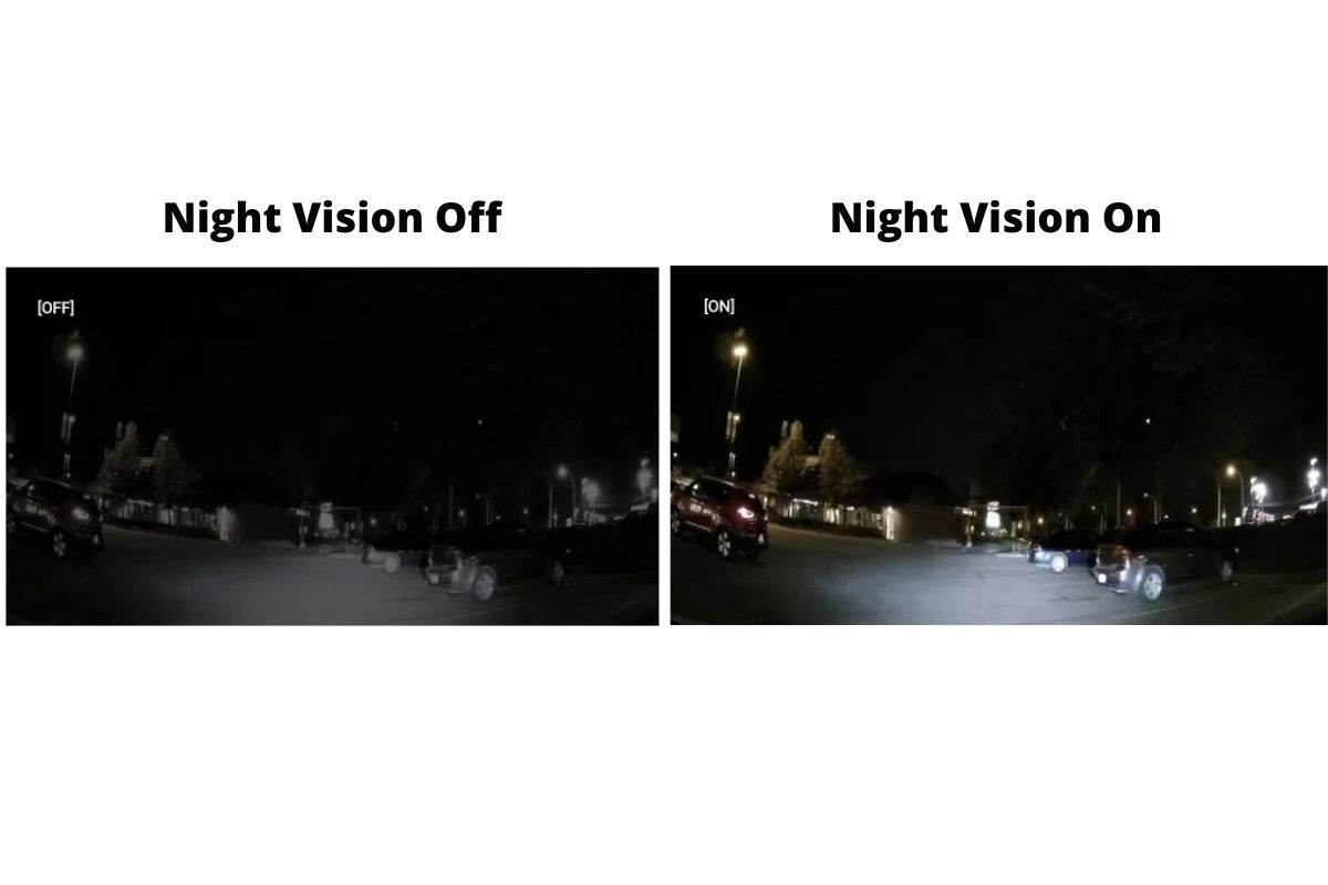 super night vision on and off
