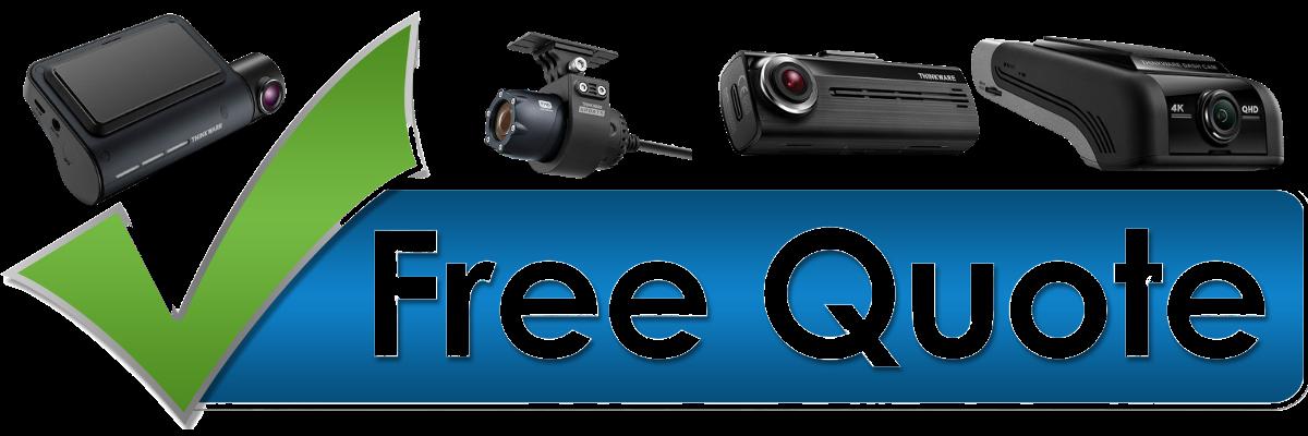 free quote dash cameras