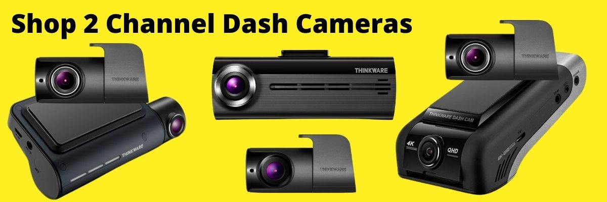 shop 2 channel dash cameras