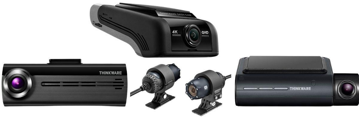shop all dash cams collage