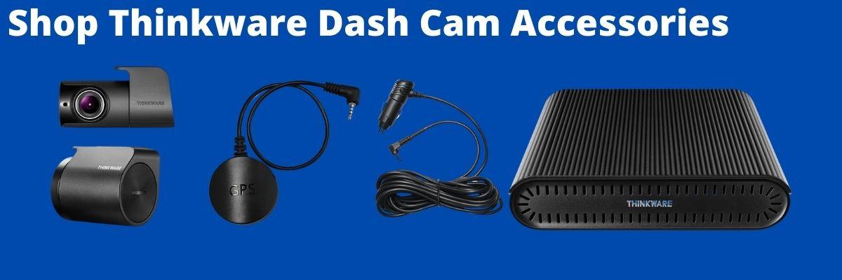 shop thinkware dash cam accessories collage