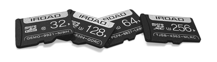 IROAD SD CARDS