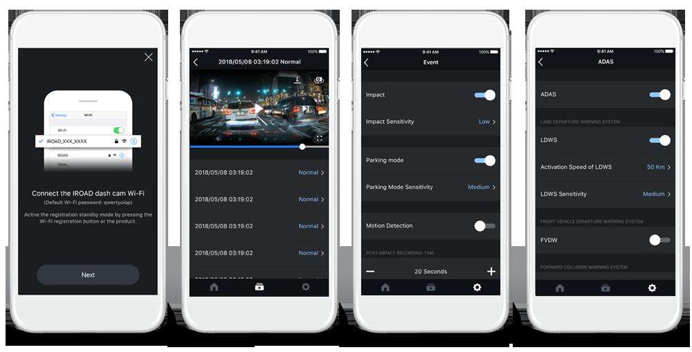 iroad phone app