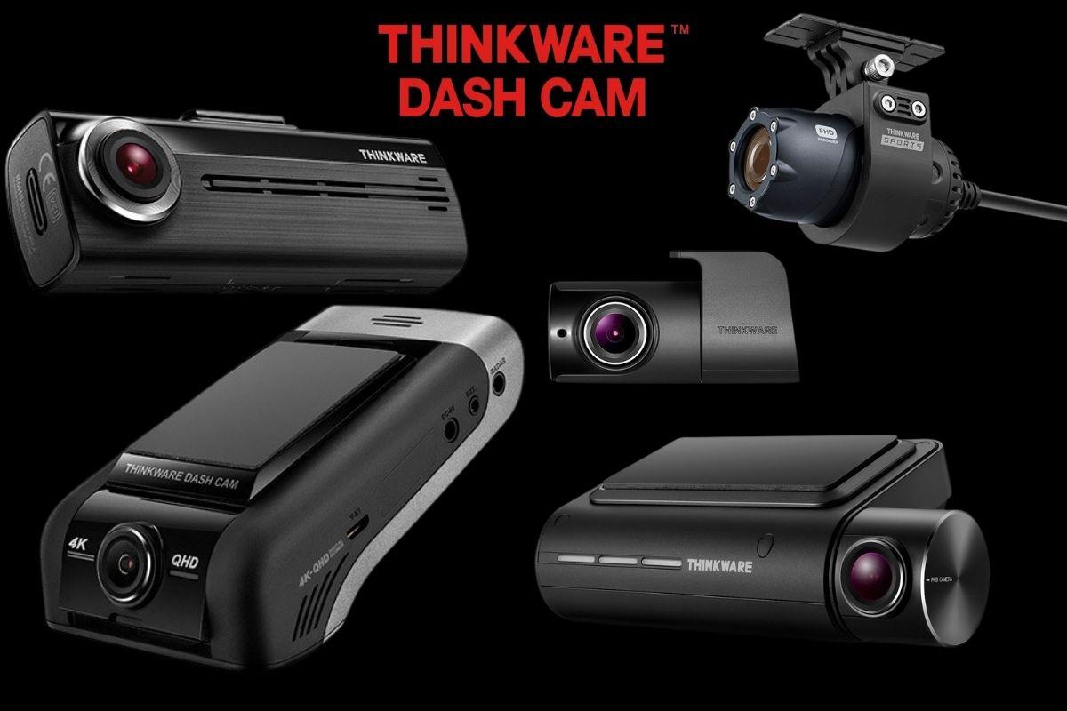 thinkware dash cam collage