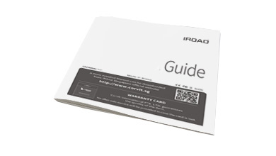 IROAD X5 GUIDE