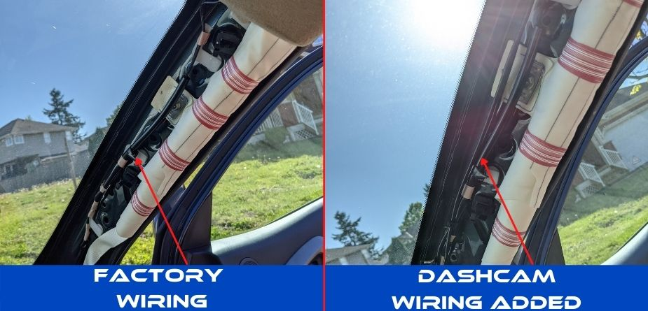 wiring by airbag