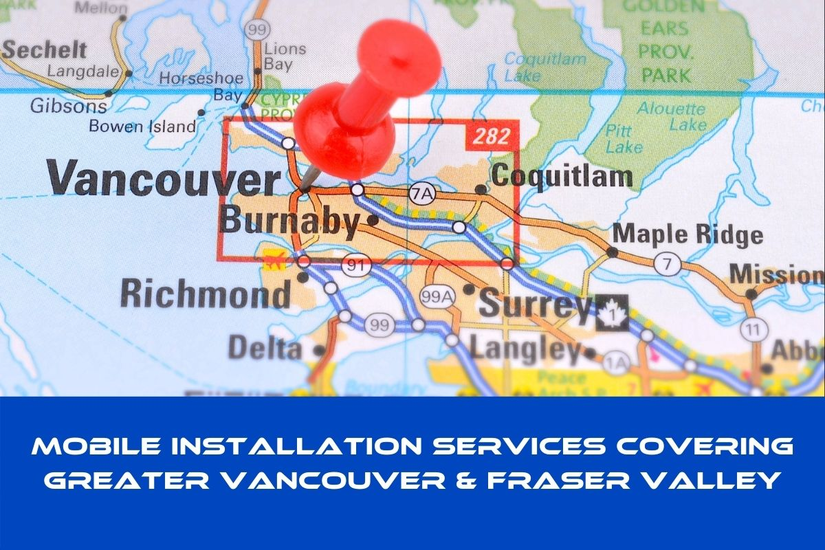 map of install coverage