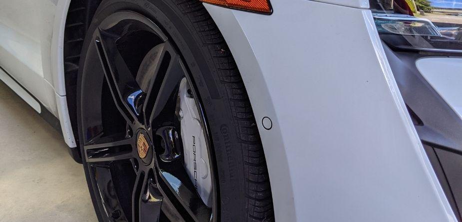 porsche taycan tire