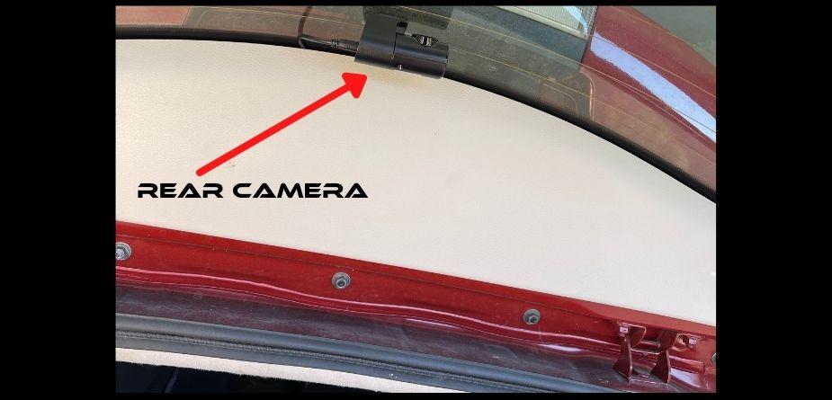 nissan leaf rear dash cam