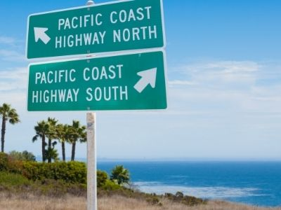 pacific coast highway signs