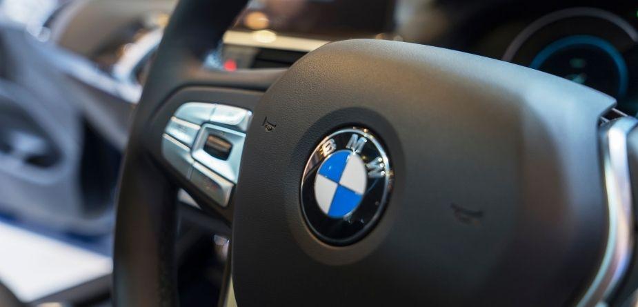 bmw convertible steering wheel
