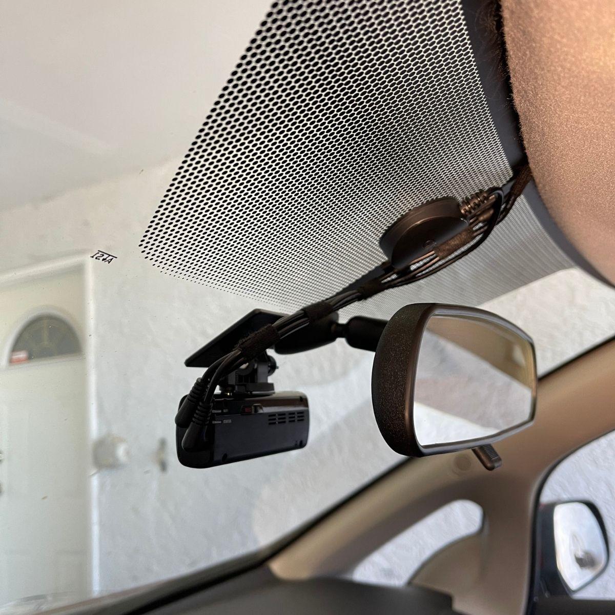 Nissan Leaf Final Dash Cam Install