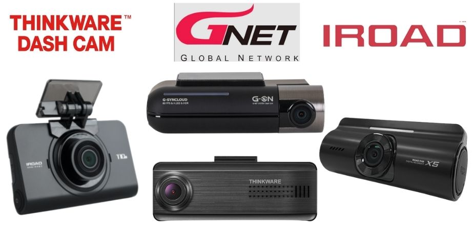 iroad, thinkware and GNET dash cam