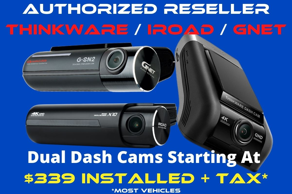 dash cam install package sale