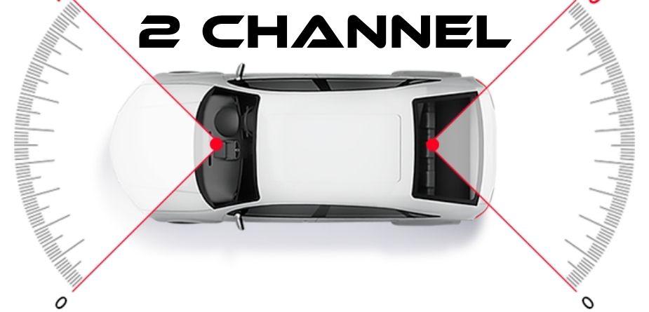 2 channel dash cam
