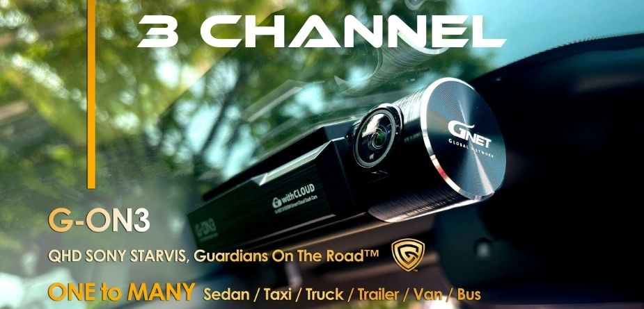 3 channel dash cams