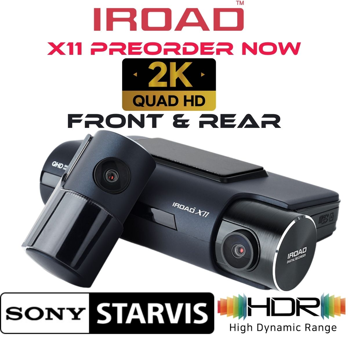 iroad x11